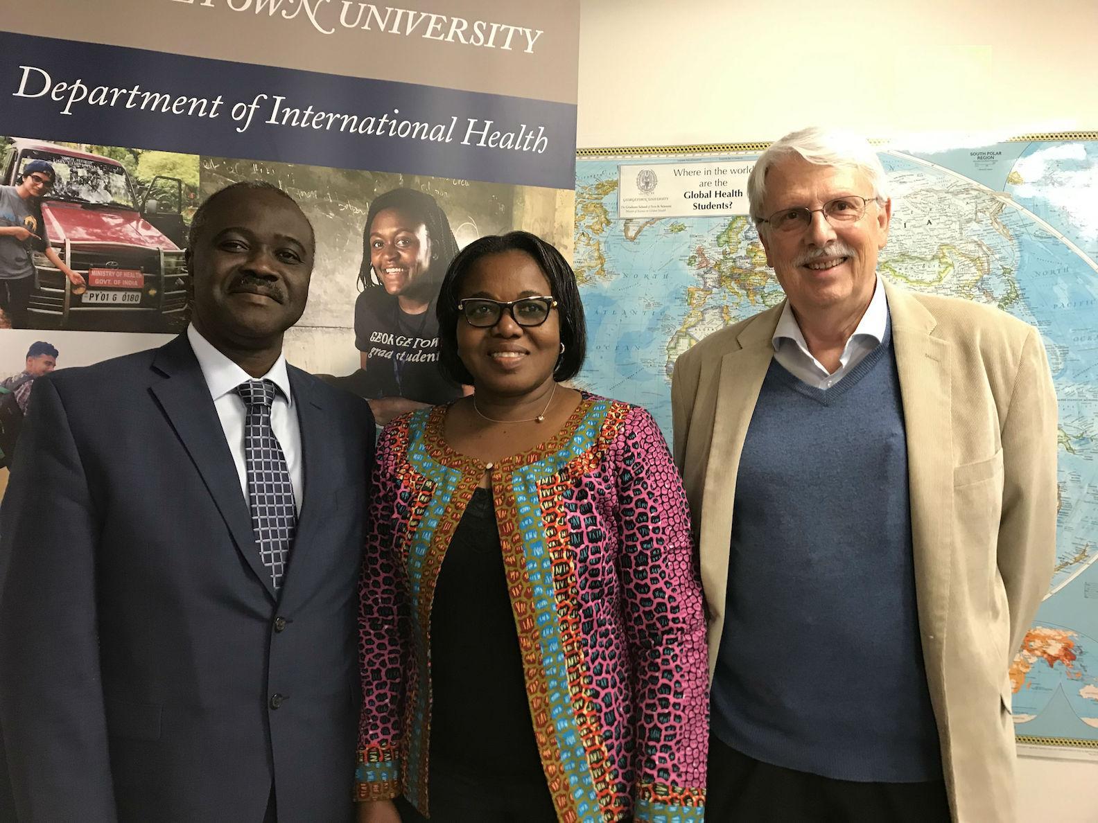Preceptors from Ghana Visit Georgetown