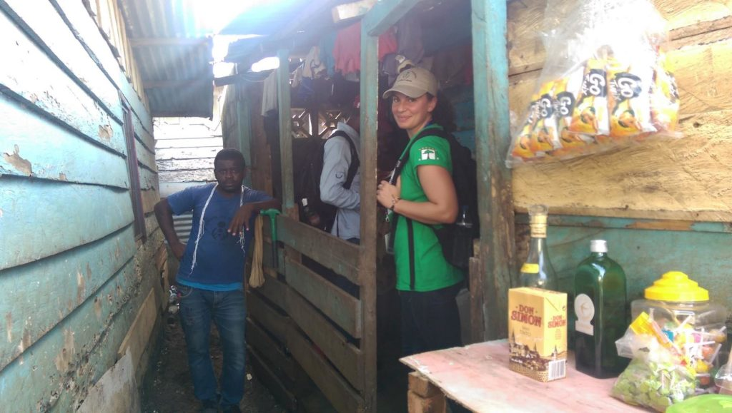 Jamie in Equatorial Guinea.